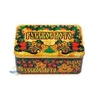 Русское лото (в металлической коробке)