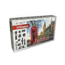 """Фигурный деревянный пазл Citypuzzles """"Лондон"""""""