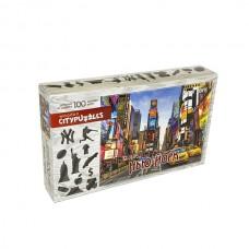 """Фигурный деревянный пазл Citypuzzles """"Нью-Йорк"""""""