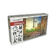 """Фигурный деревянный пазл Citypuzzles """"Париж"""""""