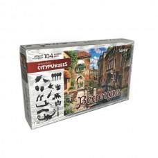 """Фигурный деревянный пазл Citypuzzles """"Венеция"""""""