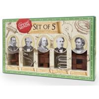 Набор из 5 головоломок: Великие умы (1124)