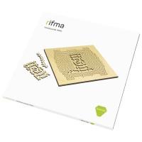 Деревянный фрактальный пазл rifma Emerald 14101 Elementary