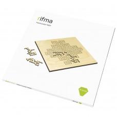 Деревянный фрактальный пазл rifma Emerald 14201 Medium