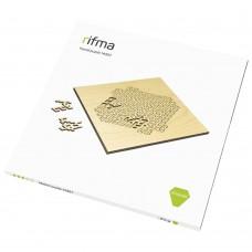 Деревянный фрактальный пазл rifma Emerald 14301 Medium