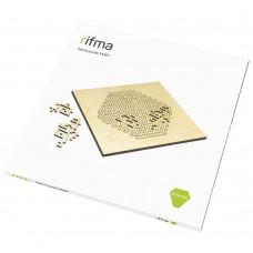 Деревянный фрактальный пазл rifma Emerald 14401 Medium