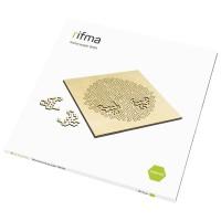 Деревянный фрактальный пазл rifma Asterisk 16101 Elementary