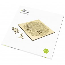 Деревянный фрактальный пазл rifma Asterisk 16201 Medium