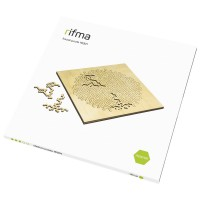 Деревянный фрактальный пазл rifma Asterisk 16301 Medium