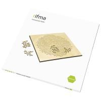 Деревянный фрактальный пазл rifma Asterisk 16401 Medium