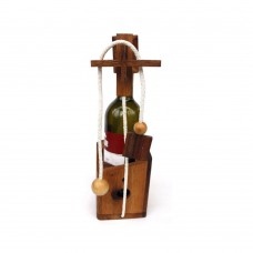 "Головоломка на бутылку TG-04A/GP333A ""Wine Bottle"" Thai Wood"