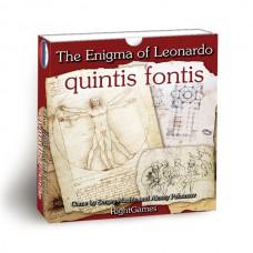 Настольная игра Загадка Леонардо. Quintis Fontis